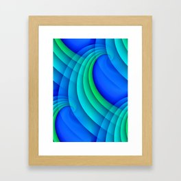 time for abstraction -20- Framed Art Print