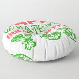 Happy Whatever Xmas Floor Pillow