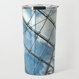 Glass Ceiling VII (Landscape) - Architectural Photography Travel Mug