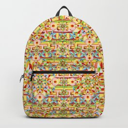Rainbow Carousel Starburst Backpack