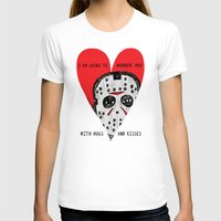 dramatical murder T-shirts featuring Murder Love by JARHUMOR