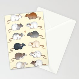 Rat colors and markings  Stationery Cards