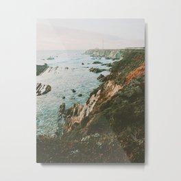 Pacific Highway Lighthouse II Metal Print