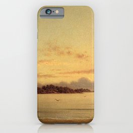 Dawn 1862 By Martin Johnson Heade | Reproduction iPhone Case