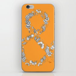 Ampersand, the Happiest Letter on Earth iPhone Skin