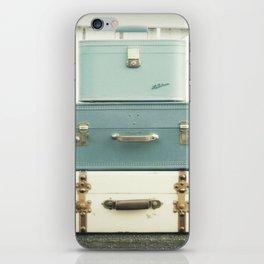 Journey in Blue iPhone Skin