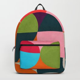 shapes spring colors Backpack