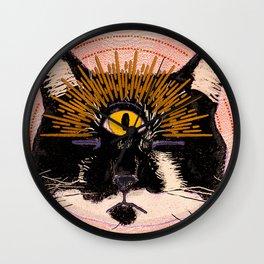 Pet Psychic Wall Clock