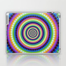 Psychedlic Rings Laptop & iPad Skin