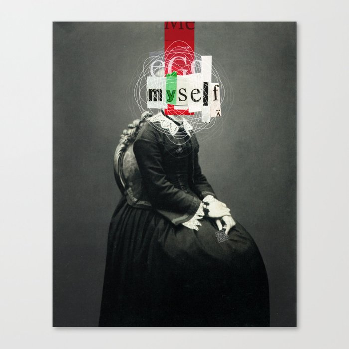 Identity  Canvas Print