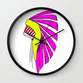 Indian in the Cupboard Wall Clock