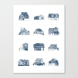 Houses of Lupus, Missouri Canvas Print