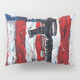 Battlefield Cross War Memorial Pillow Sham