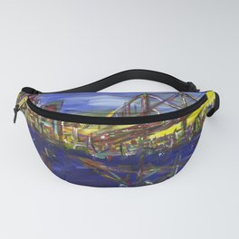 Philly Skyline with Ben Franklin Bridge Fanny Pack