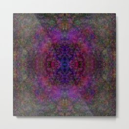 Symmetrical Obscurities 1 Metal Print