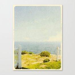 Pemaquid Point, Gate to the Ocean  Canvas Print
