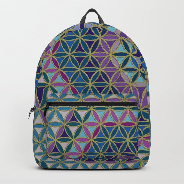 Flower of Life variation #3 Backpack