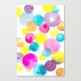 Confetti paint Canvas Print