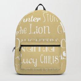 Narnia Celebration- oat Backpack