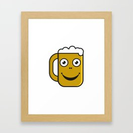 Beer party  #society6 #decor #buyart #artprint Framed Art Print