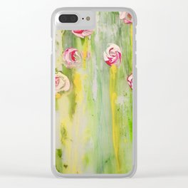 'Roses' Clear iPhone Case