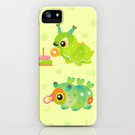 Baby Caterpillar iPhone Case