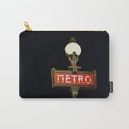 Metro - Paris Subway Sign Carry-All Pouch