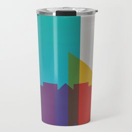 Shapes of Edmonton Travel Mug