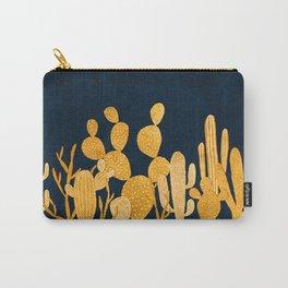 Golden cactus garden Carry-All Pouch