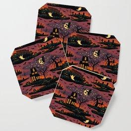 Halloween Night - Bonfire Glow Coaster