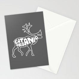 Eat Organic Stationery Cards