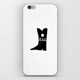 Boot iPhone Skin