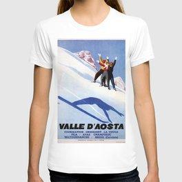 Aosta Valley winter sports T-shirt