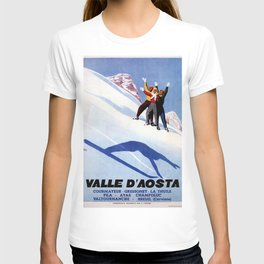 Aosta Valley winter sports T-shirt