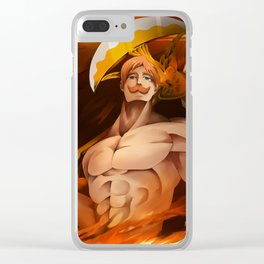 The Seven Deadly Sins Clear iPhone Case