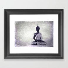 Buddha  - JUSTART © Framed Art Print