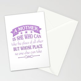 A Mother Stationery Cards