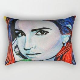 Emma Watson Rectangular Pillow