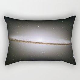 Sombrero Galaxy Hubble Telescope Image Rectangular Pillow
