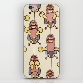 Flight of the Buzzy Bees iPhone Skin