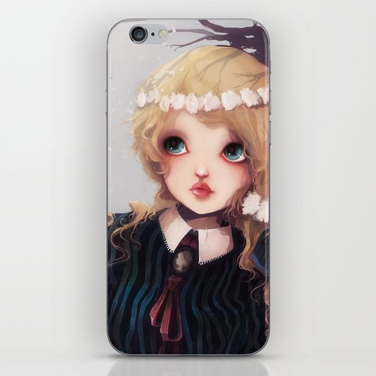 Quelque part... iPhone & iPod Skin