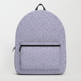 Going Round and Round - Violet Backpack