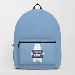 Save The Humans Backpack