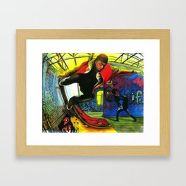 I Arrived In A New Home To Find a New Angel Framed Art Print