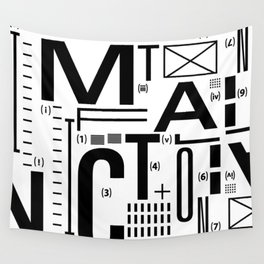 METAL FICTION Wall Tapestry