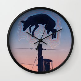 Ghost Summer Wall Clock