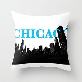 Chi-Town Throw Pillow