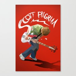 Scott Pilgrim - Poly Canvas Print