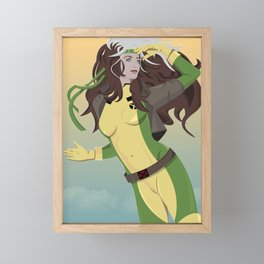 rogue (90s) Framed Mini Art Print