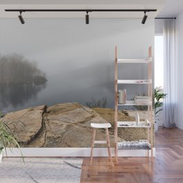 Foggy reflections Wall Mural